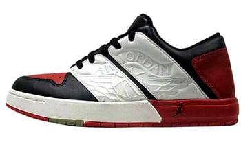 7b247356a463 Jordan Nu Retro 1 White Black Red 2002 Release Date