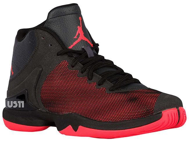 Jordan Super Fly 4 PO Black Red