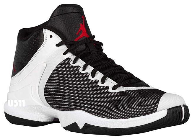 Jordan Super Fly 4 PO Black White