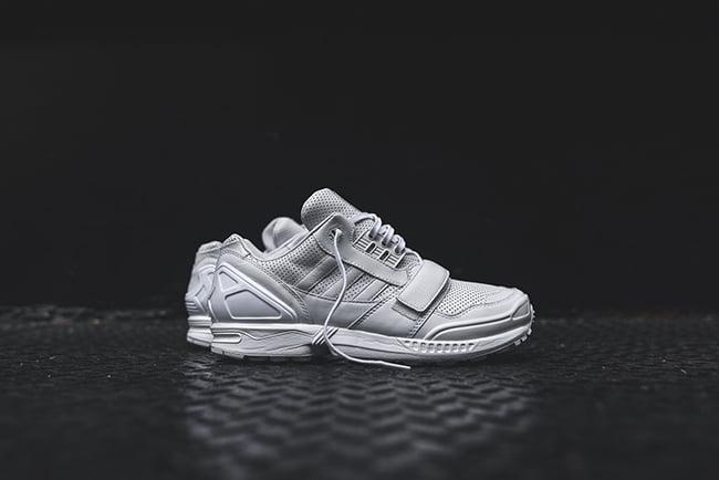 designer fashion b38ad 7908f Juun J adidas ZX 8000 Triple White | SneakerFiles