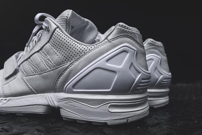 juun j adidas zx 8000 triplo bianco