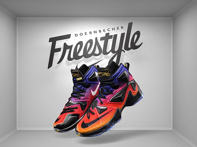 Kian Safholm Nike LeBron 13 Doernbecher