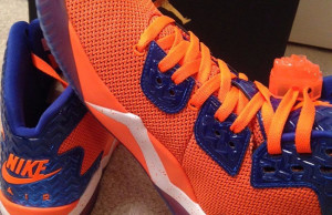 Jordan Air Spike 40 Knicks Orange