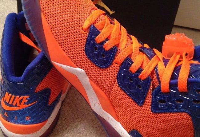Jordan Air Spike 40 Knicks Orange