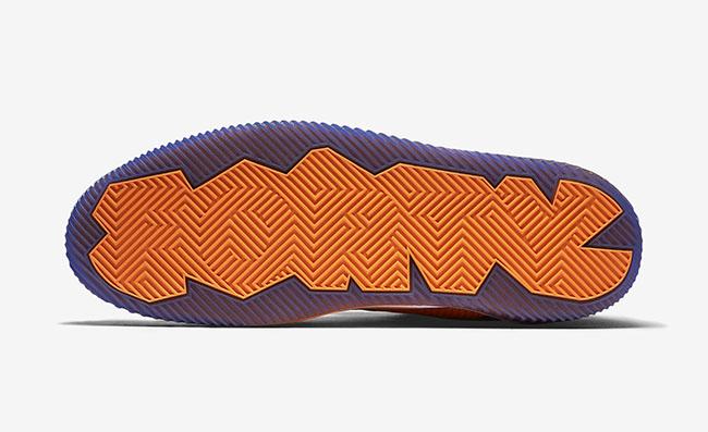 Knicks Orange Jordan Air Spike 40