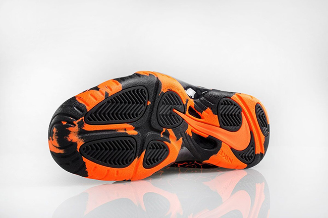 Lava Nike Little Posite One Magma