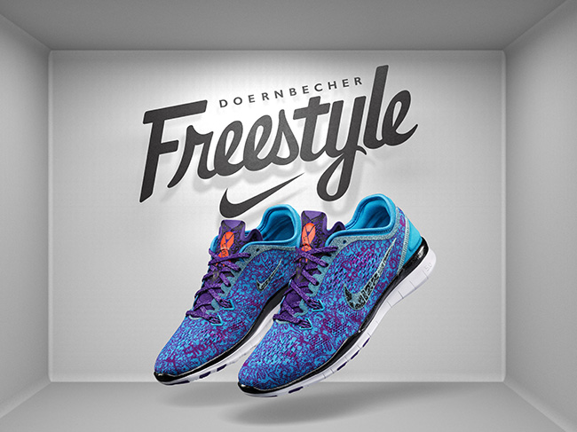 Lizzy Olivan Nike Free 5.0 Doernbecher