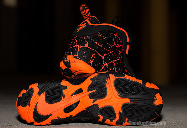 Magma Nike Little Posite One