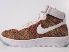 Multicolor Nike Flyknit Air Force 1