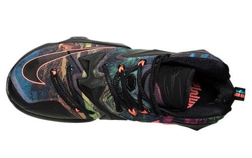 Multicolor Nike LeBron 13 2015
