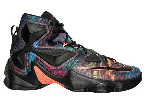separation shoes 439ad 76f11 Multicolor Nike LeBron 13 2015