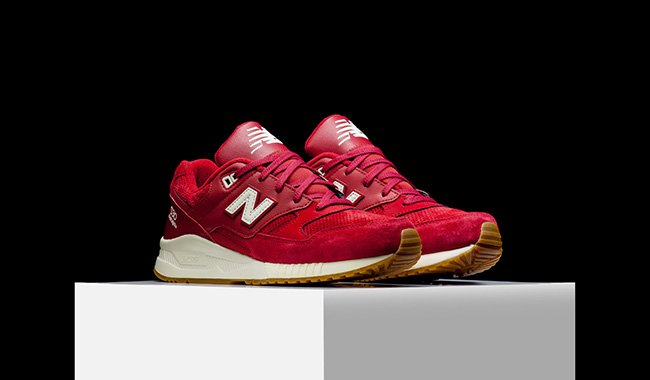 New Balance 530 Running Solids Red