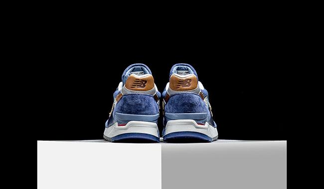 New Balance 998 Camel Blue