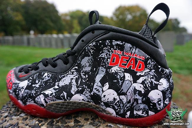 Nike Air Foamposite One The Walking Dead Custom