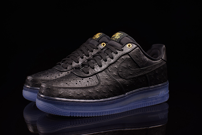 Nike Air Force 1 CMFT Lux Low Black Ostrich