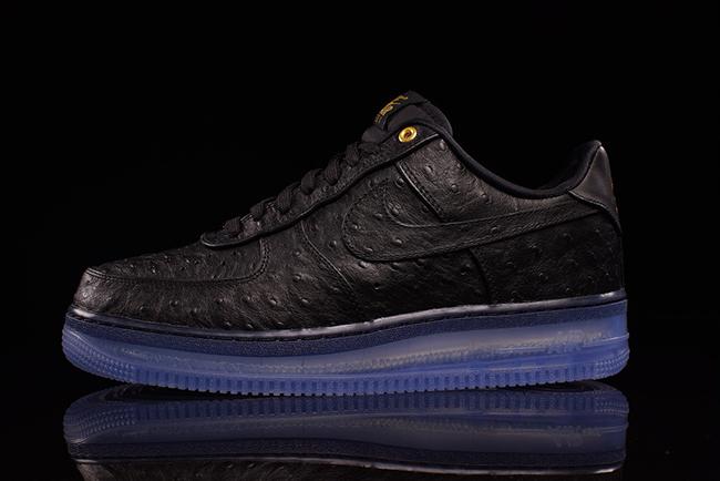 Nike Air Force 1 CMFT Lux Low Black Ostrich