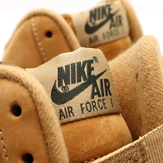 Wheat air force one release the air force ones release dates nike wheat air  force one release air force wheat air force one hi in feet wapremier nike  ...