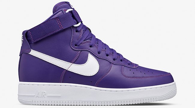 Nike Air Force 1 High Purple White
