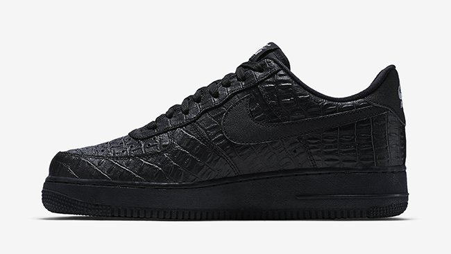 Nike Air Force 1 Low Black Croc