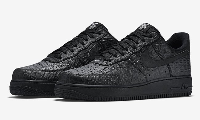 buy popular 270dc 67280 Nike Air Force 1 Low Black Croc
