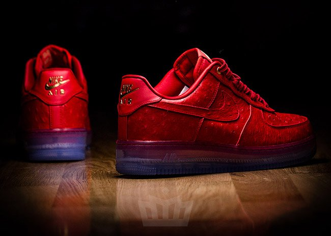 Nike Air Force 1 Low CMFT Lux Red Ostrich