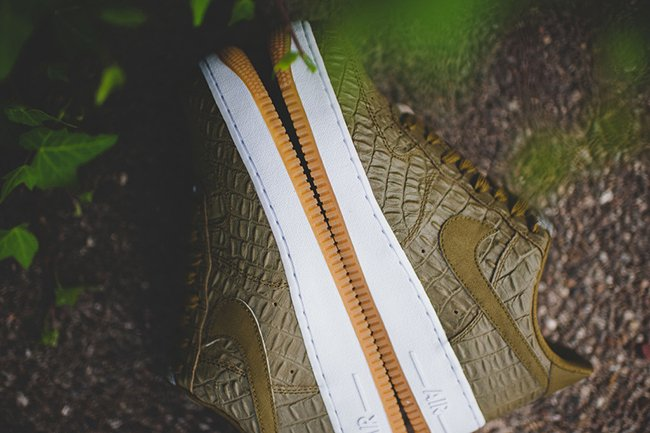 Nike Air Force 1 Low Militia Green Croc  15c2846de