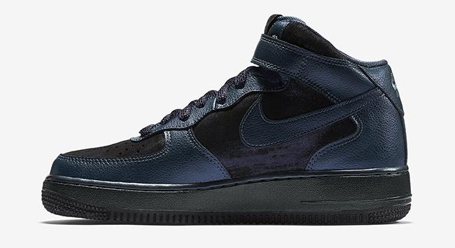 Nike Air Force 1 Mid Metallic Armory Navy