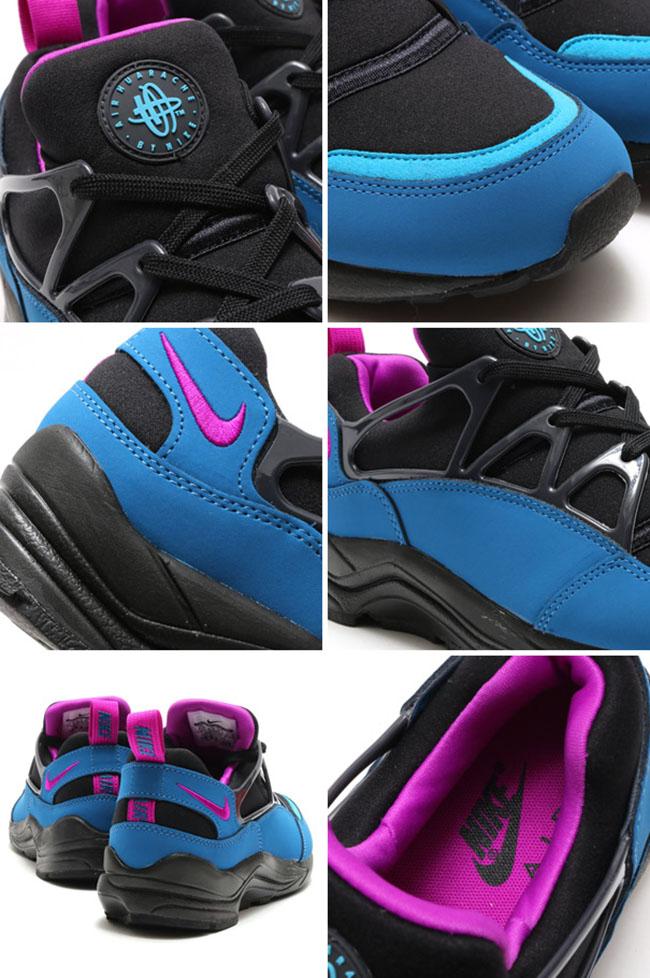 Nike Air Huarache Light FB Black Purple Blue