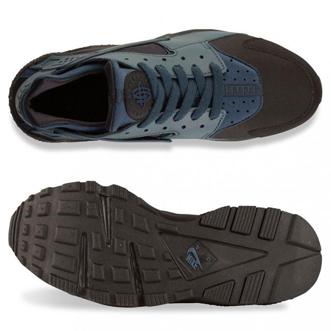 394413c6c9dd Nike Air Huarache Premium Black Squadron Blue