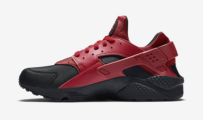 Nike Air Huarache Premium Gym Red Black