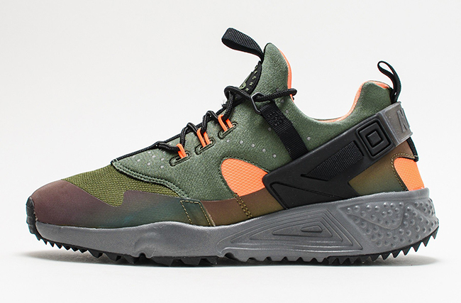 Nike Air Huarache Utility Carbon Green  92be2b427