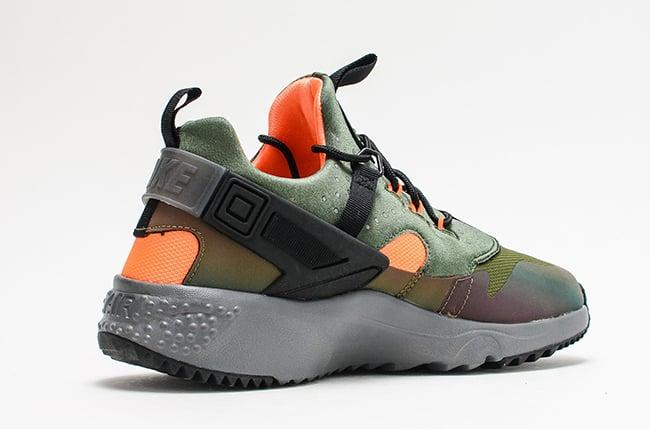 official photos 6f486 d5de4 Nike Air Huarache Utility Carbon Green