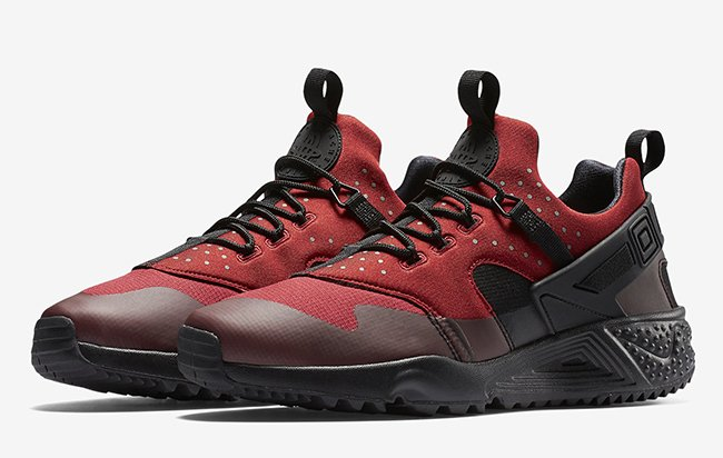 ... Nike Air Huarache Utility Gym Red ... ce467ca36