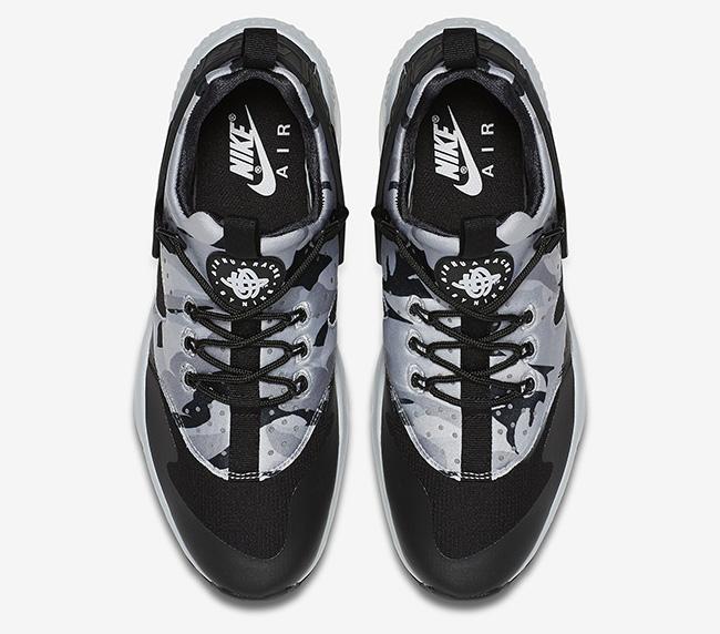 Nike Air Huarache Utility Pure Platinum Black Grey