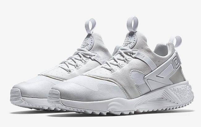 buy online 0d086 8420a Nike Air Huarache Utility White