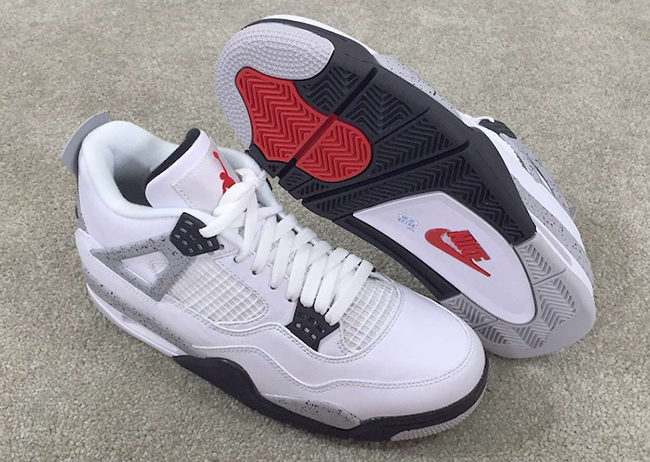 Nike Air Jordan 4 Retro 89 2016 Cement