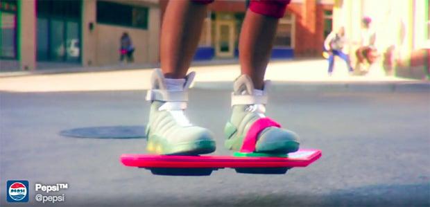 Nike Air MAG Back to the Future Pepsi  7c3b14d69