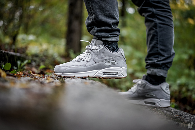 new york 2d8f1 9490b Nike Air Max PRM Grey Nubuck Pack