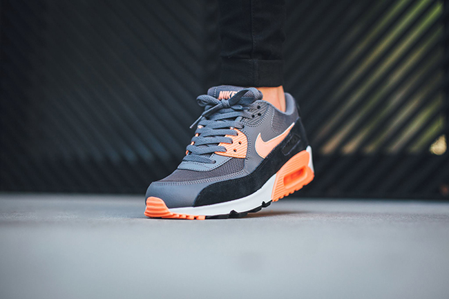 official photos d31f5 a144d Colorway  Dark Grey Sunset Glow-Black-Pure Platinum Product Number  616730-021.  lovely Nike Air Max 90 Essential Sunset Glow