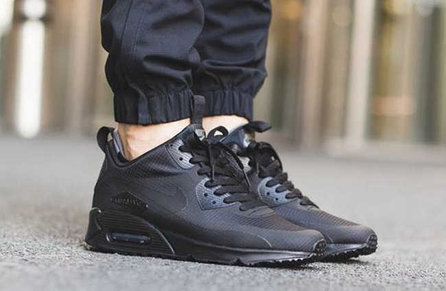 Nike Air Max 90 Mid Winter Black Sneakerfiles