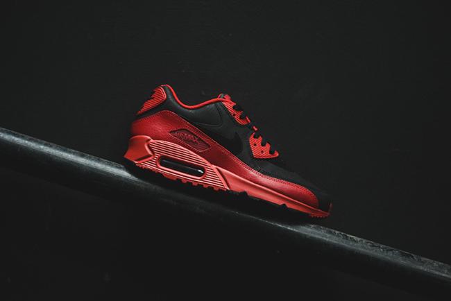 Nike Air Max 90 Premium Invierno Gimnasia Roja yU0yzRqY