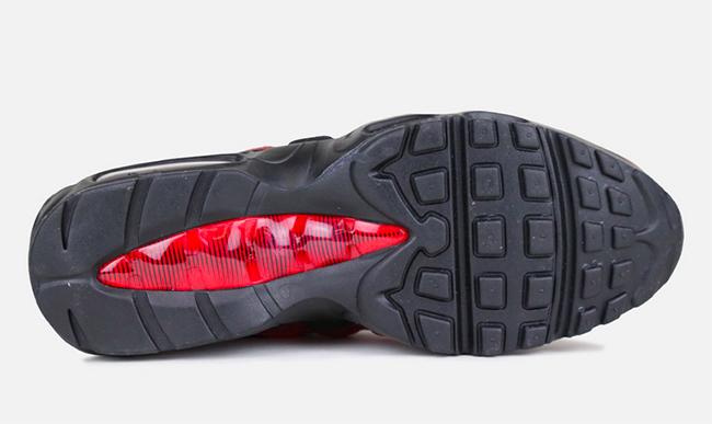Nike Air Max 95 Red Black Bred