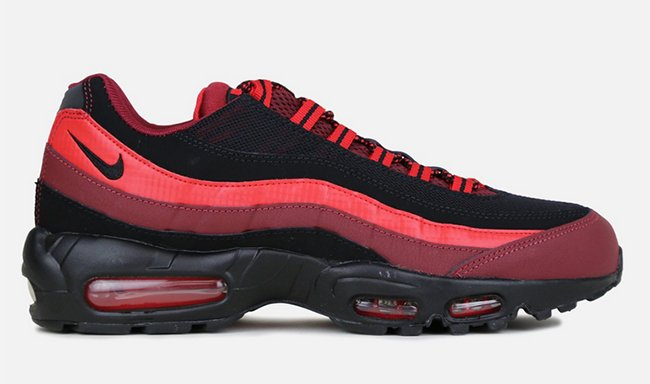 new concept b0def dcb26 Nike Air Max 95 Red Black Bred | SneakerFiles