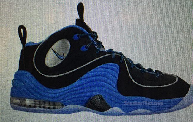 Nike Air Penny 2 Black University Blue 2016