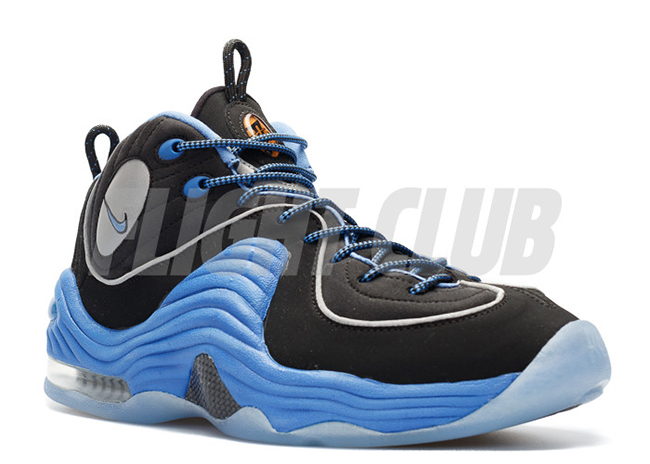 Nike Air Penny 2 Black Varsity Royal 2016