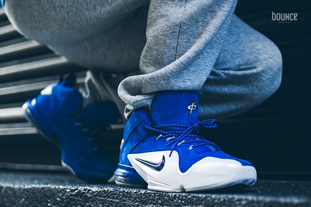 Nike Air Penny 6 Royal Blue Suede
