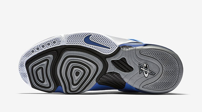 Royal Blue Suede Nike Air Penny 6
