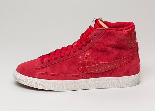 Nike Blazer Croc Rouge