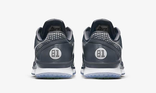 Nike CJ3 Flyweave Trainer Gridiron Grey