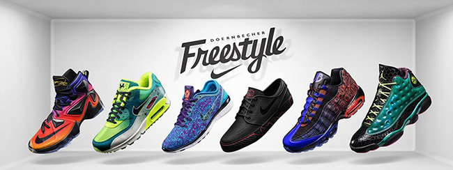 Nike Doernbecher Freestyle 2015 Collection